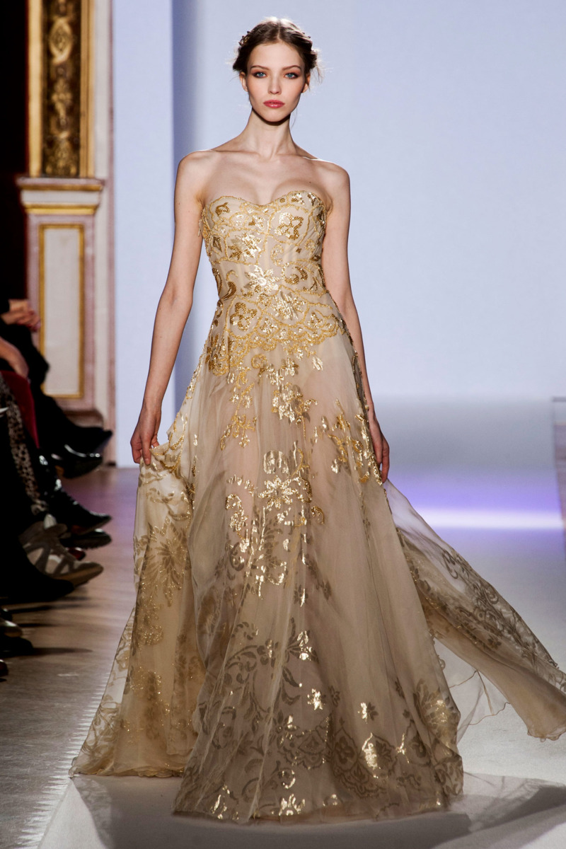 Zuhair murad spring 2013 couture the cut for O couture fashion