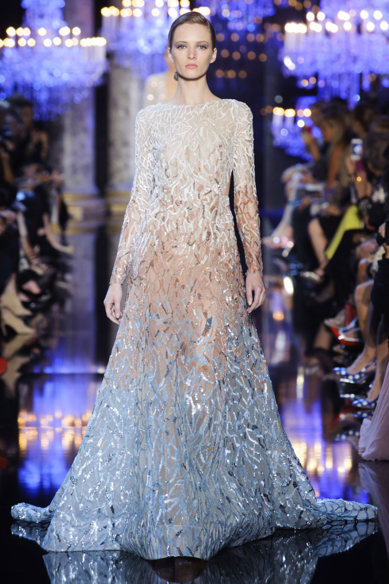 Elie saab fall 2014 couture the cut for O couture fashion