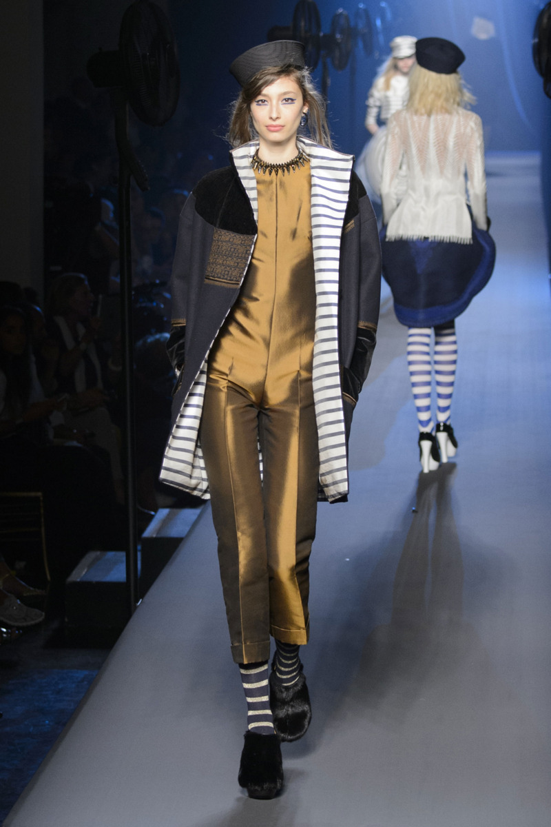 Jean paul gaultier fall 2015 couture the cut - Acheter mariniere jean paul gaultier ...