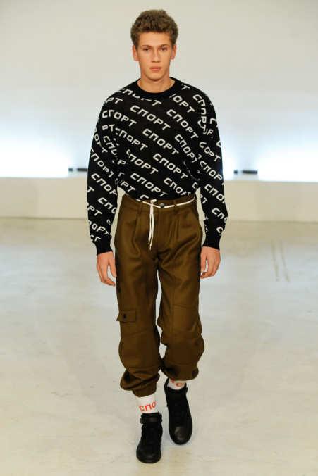 Gosha Rubchinskiy - Fall 2015 Menswear - The Cut