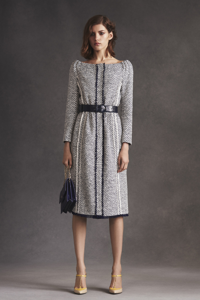 Oscar de la renta resort 2016 the cut for Fashion exhibitions new york
