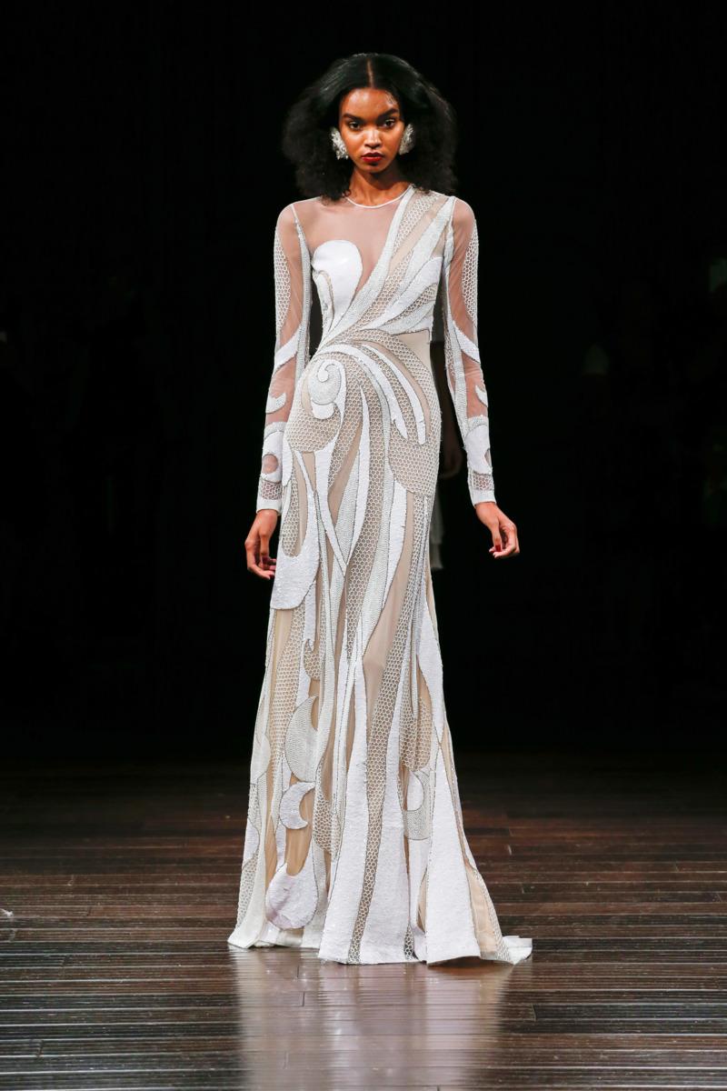 Naeem khan fall 2017 bridal the cut for Custom made wedding dresses nyc
