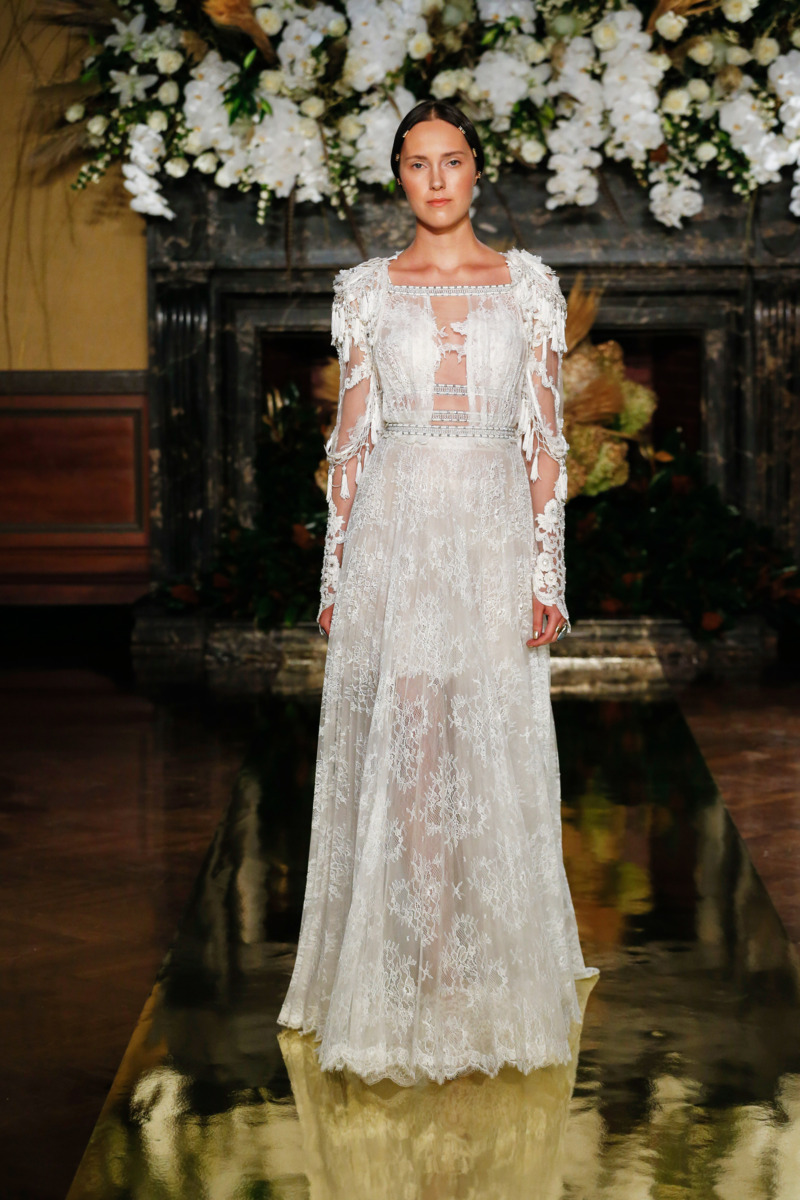 thecut fashion shows fall york bridal pucchi