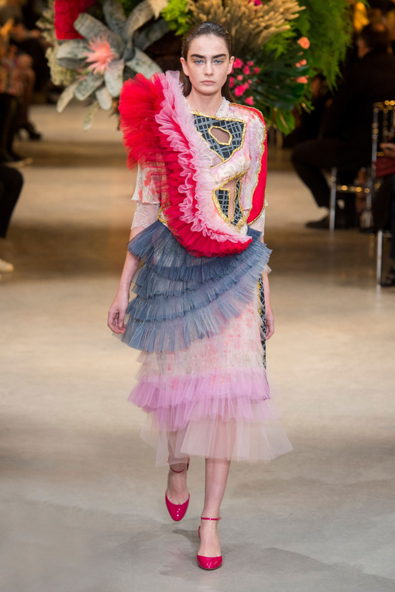 Viktor rolf spring 2017 couture the cut for O couture fashion