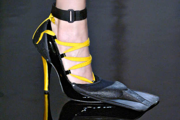 Photo 2 from Jean Paul Gaultier 1977  Les Plongeuses Fin-Heels, S/S 2007