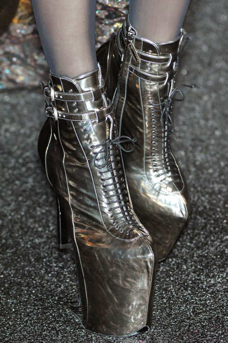 Photo 45 from Nina Ricci Platform Lace-up Bootie, F/W 2009