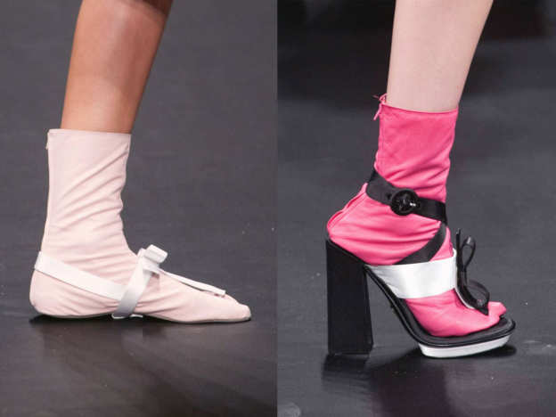 Photo 48 from Prada Leather Tabi and Platform Overshoes, S/S 2013
