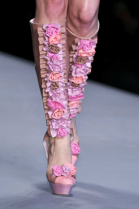 Photo 3 from Viktor and Rolf Cutaway Knee-High Boots, S/S 2010
