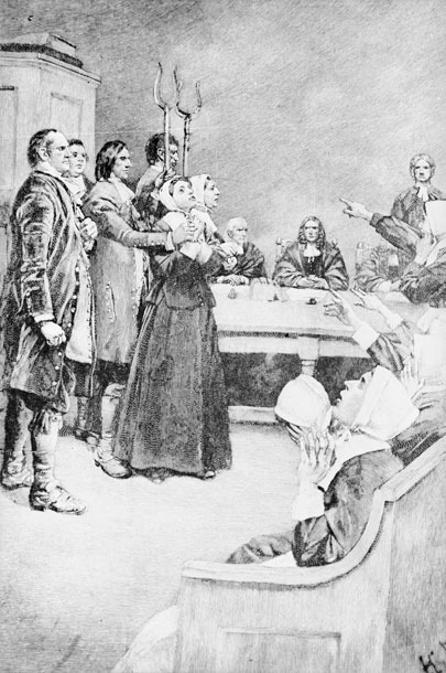 mass hysteria on salem witch trial Five myths about the salem witch trials  and hysteria in 1692 salem  it began in salem village, today danvers, mass,.