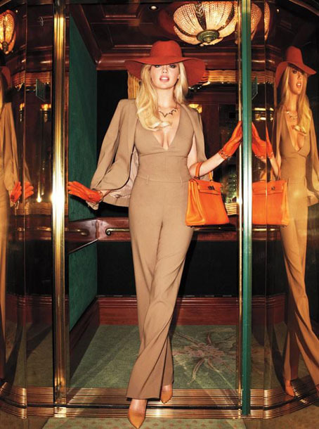 "<i><a href=""http://www.harpersbazaar.com/fashion/fashion-articles/kate-upton-photos-0512#slide-1"">Harper's Bazaar</a></i> editorial, shot by Terry Richardson."