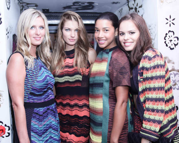 Photo 46 from Nicky Hilton, Jessica Hart, Hannah Bronfman, Atlanta de Cadenet Taylor