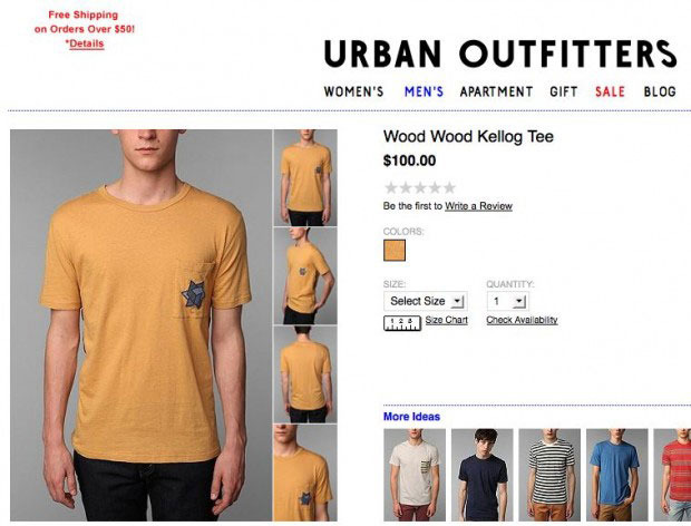 Controversy The Anti Defamation League Got Upset At Urban Outfitters Who Else For Selling A Shirt With A Patch That Looked Like The Star Of David That
