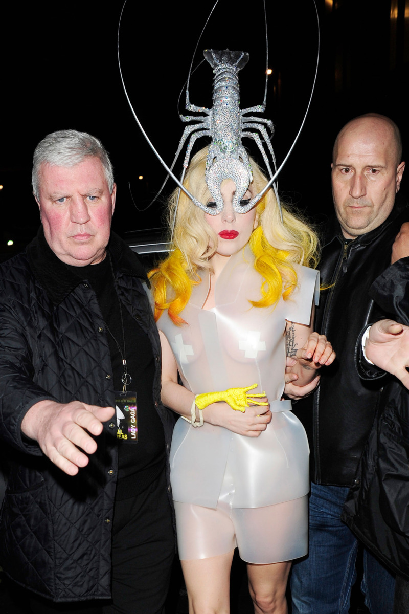Lady Gaga in a Philip Treacy Lobster Hat - 50 Most Legendary Hats Throughout History - The Cut