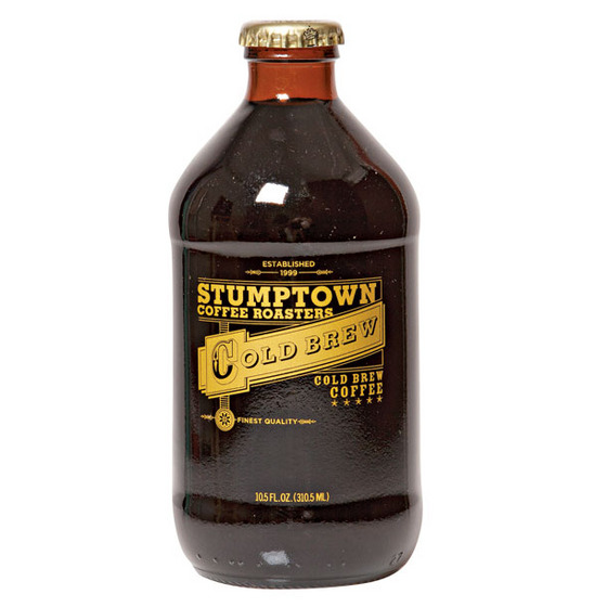 "<b>Stumptown Stubbies</b><i><a href=""http://nymag.com/listings/restaurant/stumptown-coffee/""></a></i>  <i><a href=""http://nymag.com/listings/restaurant/stumptown-coffee/""> Stumptown Coffee</a> in the <a href=""http://nymag.com/listings/hotel/ace_hotel_new_york/"">Ace Hotel</a>, 18 W. 29th St., nr. Broadway (212-679-2222)</i><i></i>   Pour your Red Hook–brewed and –bottled house-blend Stubby ($4 for 10.5 ounces) over ice, or swig it straight from the bottle for a toasty chocolate bite with hints of ripened cherry. Growlers are in the works for big-fan restaurateurs (like <a href=""http://nymag.com/listings/restaurant/pok-pok-wing/"">Pok Pok</a>'s Andy Ricker)."