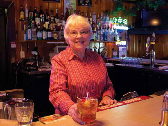 Wherever you go in Wisconsin, a supper club is there to welcome you with a Brandy Old Fashioned Sweet— like owner Carolyne Hensel of the Castle Hill Supper Club in Merrillan.
