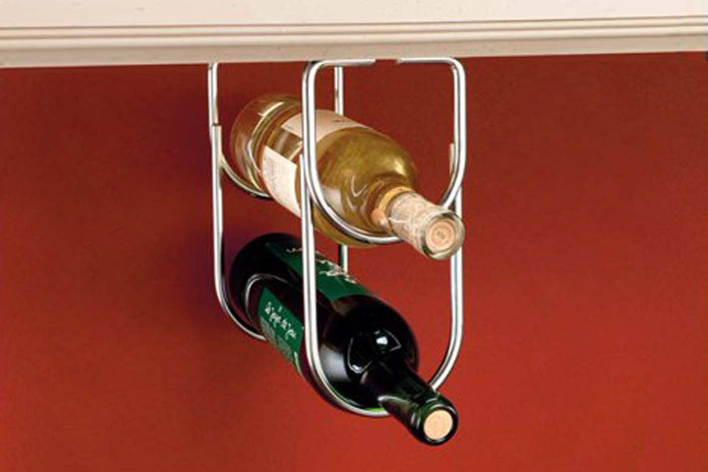 Rev-A-Shelf - Oil Rubbed Bronze Under Cabinet Double Wine Bottle Rack