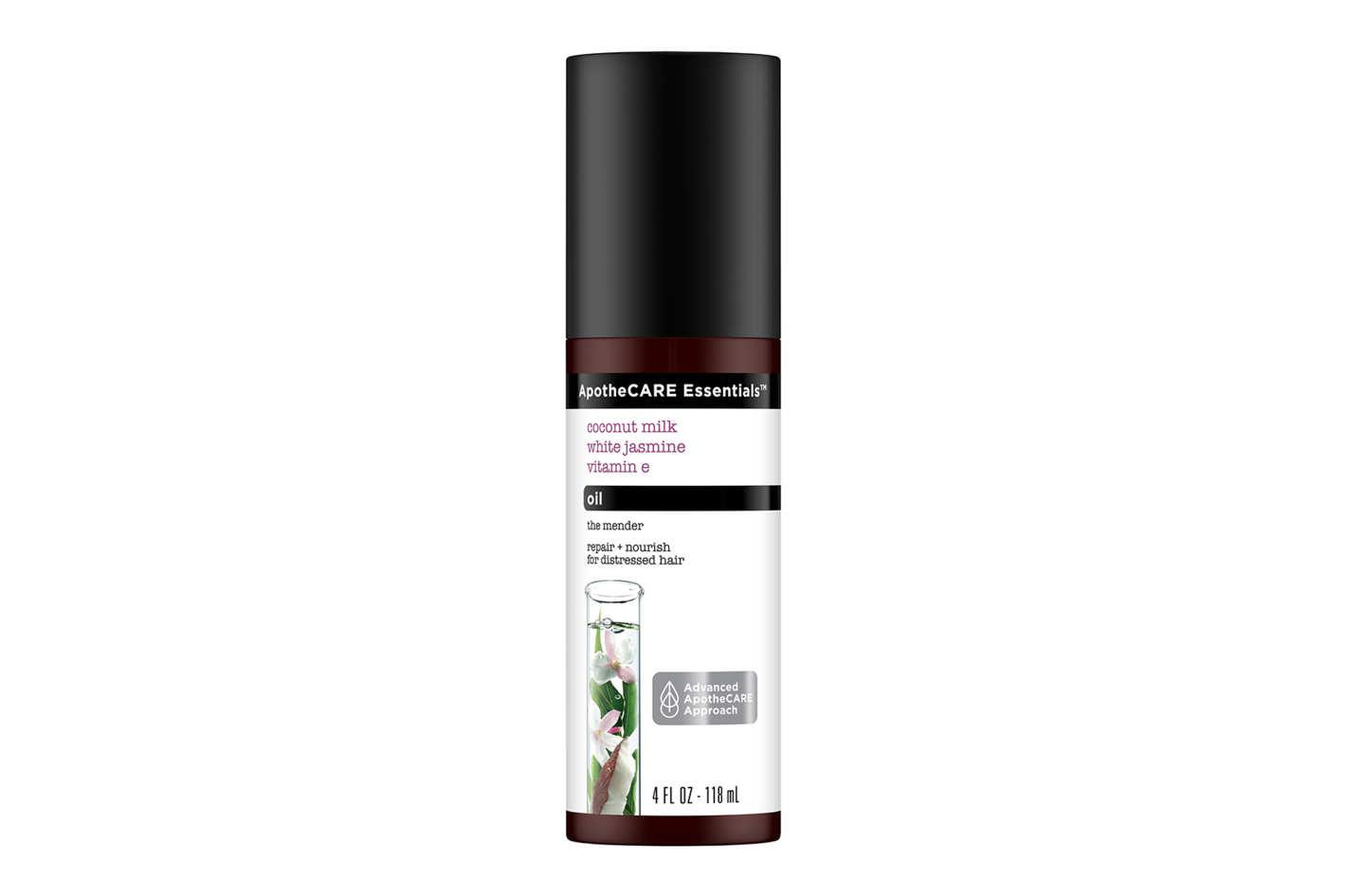 ApotheCARE Essentials The Mender Coconut Milk White Jasmine Vitamin E Hair Oil