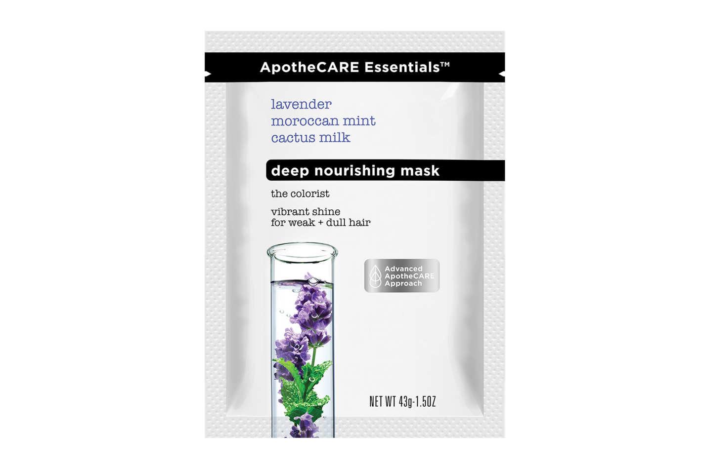 ApotheCARE Essentials The Colorist Lavender Moroccan Mint Cactus Milk Hair Mask