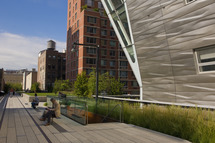 The High Line on September 10, 2011 in New York City.