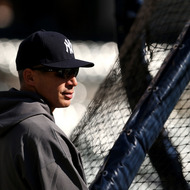 DETROIT, MI - OCTOBER 18:  Manager Joe Girardi of the New York Yankees looks on during batting practice against the Detroit Tigers during game four of the American League Championship Series at Comerica Park on October 18, 2012 in Detroit, Michigan.  (Photo by Jonathan Daniel/Getty Images)