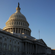 "WASHINGTON, DC - JANUARY 24:  The U.S. Capitol building stands prior to U.S. President Barack Obama's State of the Union speech on January 24, 2012 in Washington, DC. Obama said the focal point his speech is the central mission of our country, and his central focus as president, including ""rebuilding an economy where hard work pays off and responsibility is rewarded.""  (Photo by Mark Wilson/Getty Images)"
