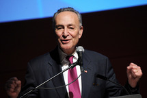"""Senator Charles """"Chuck"""" Schumer attends The New School University Center Opening Showcase at The New School University Center on January 23, 2014 in New York City."""