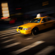 NEW YORK, NY - FEBRUARY 13: A New York cab ,on February 13, 2013, in New York City. (Photo by Timur Emek/Getty Images)