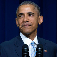 President Barack Obama delivers remarks on the 5th Anniversary of the Affordable Care Act, on 25 March 2015.