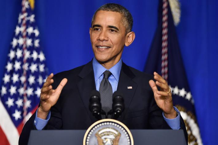 Obama Speaks Before Leaving COP21