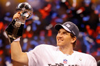 Quarterback Eli Manning #10 of the New York Giants