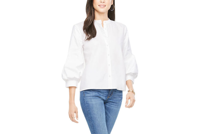 best white button down shirts for women