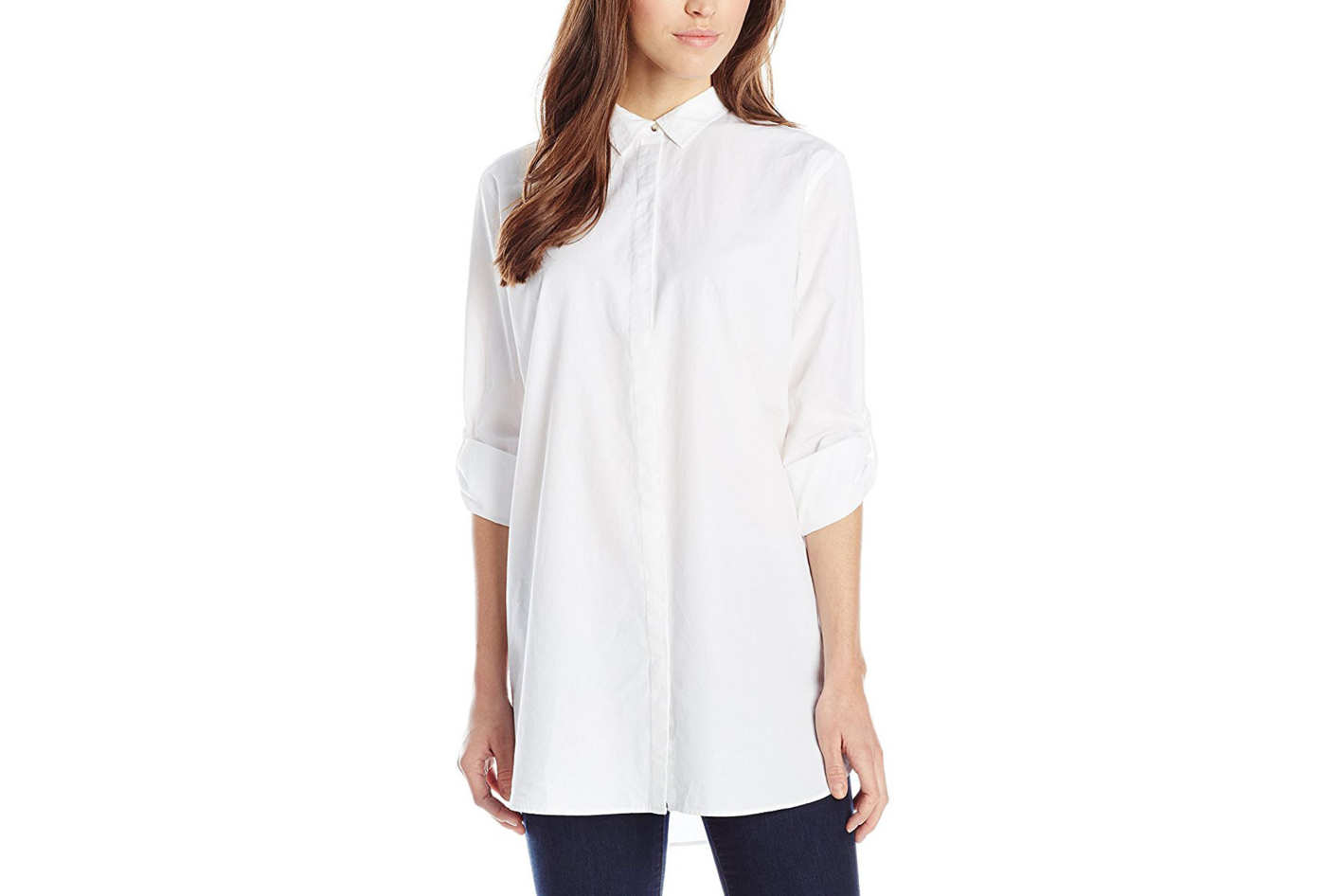 fd6b88497ccaf best white button down shirts for women. MiH Jeans Women's Oversize Button  Up Shirt. ""
