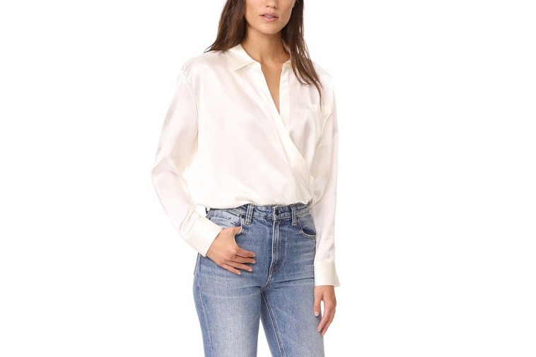 b9ad4aaa best white button down shirts for women