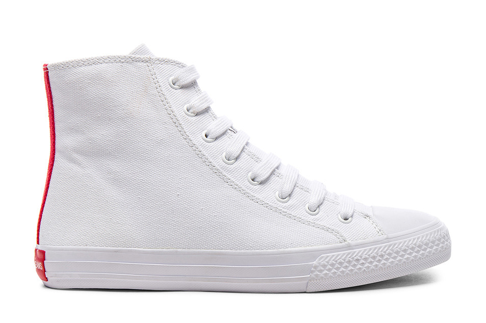 Calvin Klein 205W39NYC Canvas High-Top Sneakers