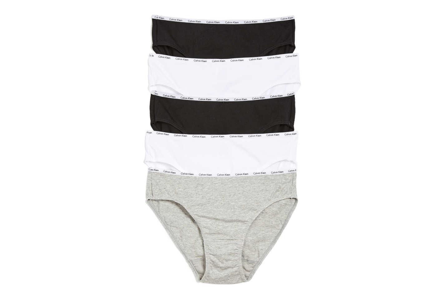 Calvin Klein Underwear 5-Pack Bikini Briefs