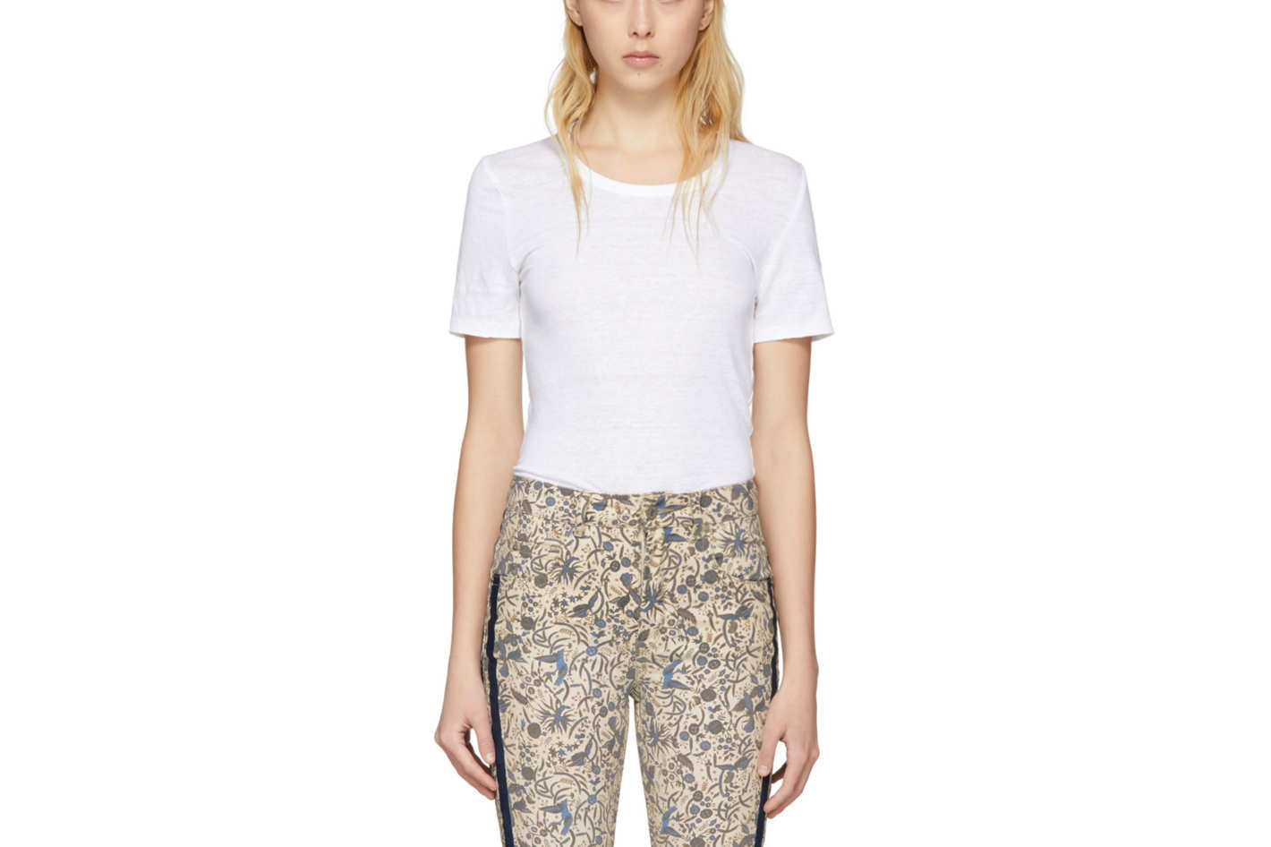 Isabel Marant Etoile White Killian T-Shirt