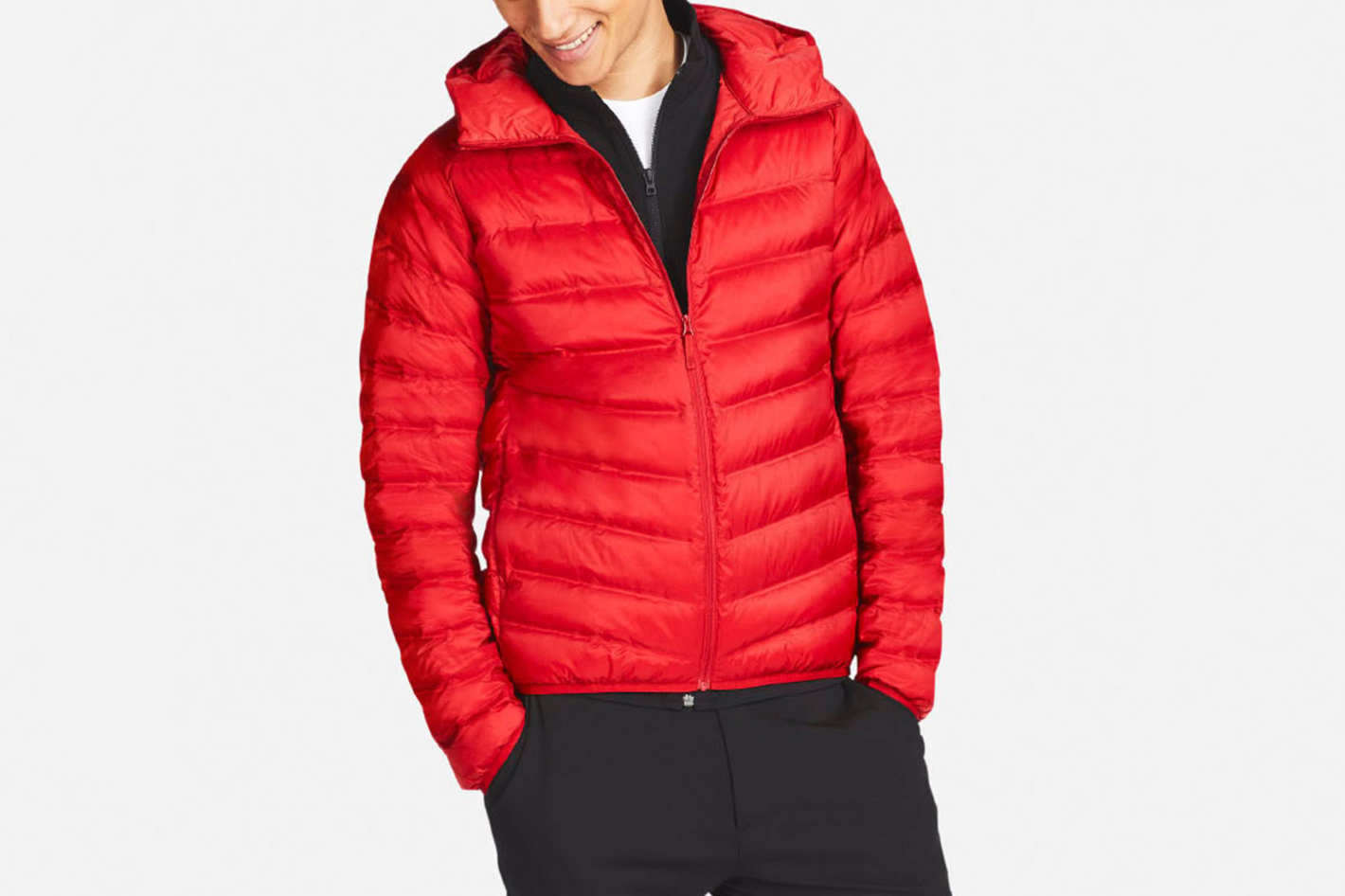 Uniqlo Men's Ultra Light Down Seamless Parka