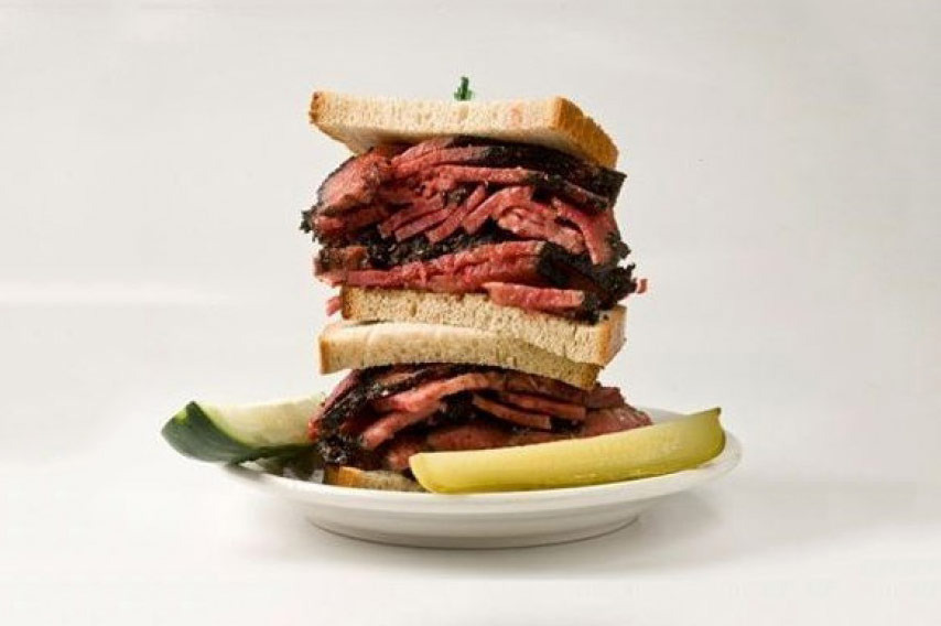 Pastrami Corned Beef Dinner for Two