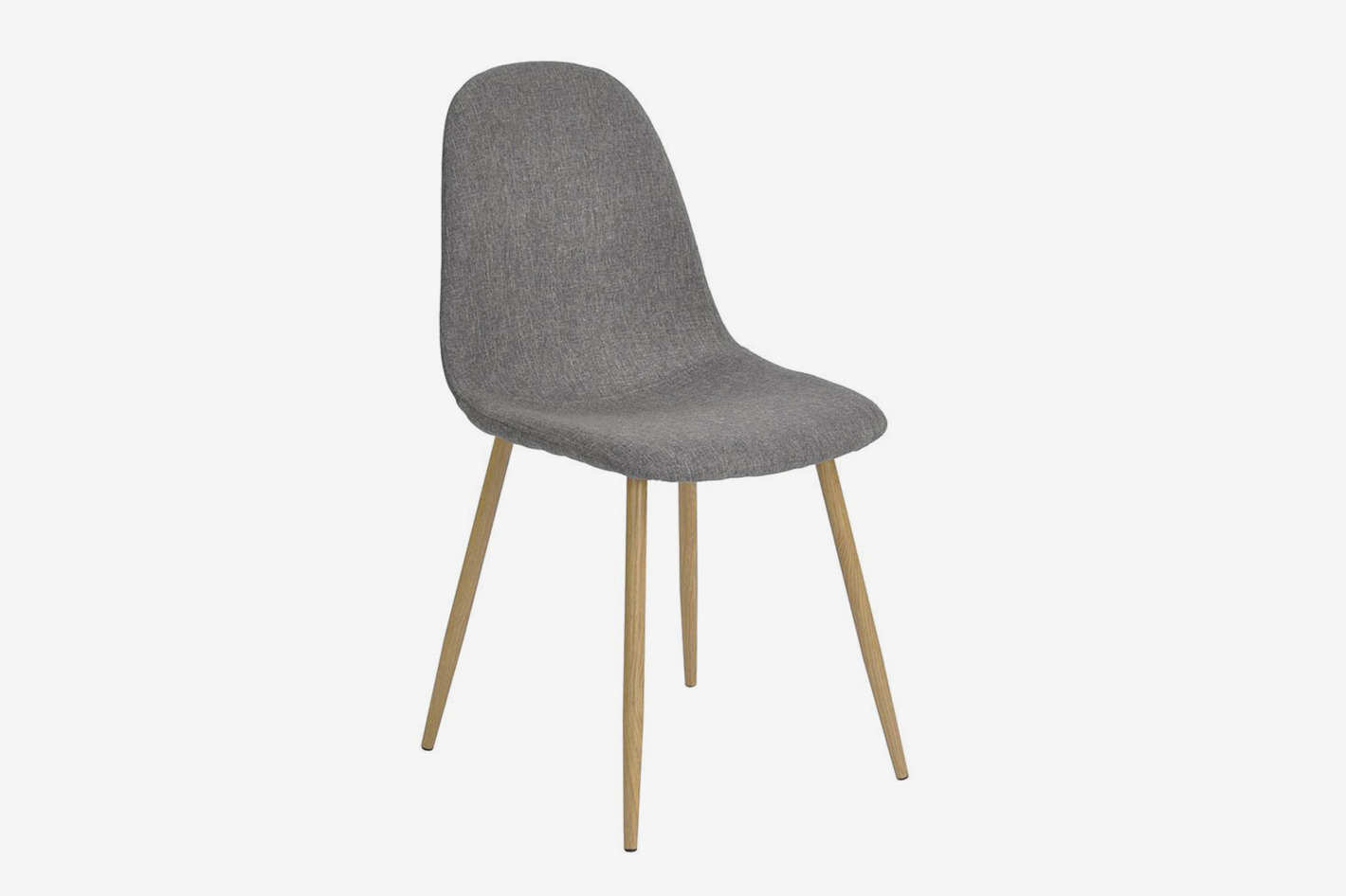 Set of 4 Fabric Eames Style Dining Side Chairs