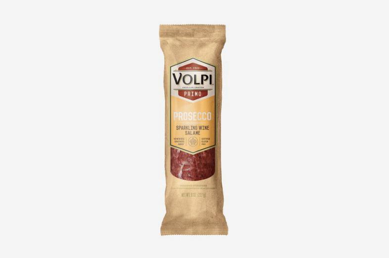 Volpi Salami, Prosecco Sparkling Wine, 0.5 Lb.