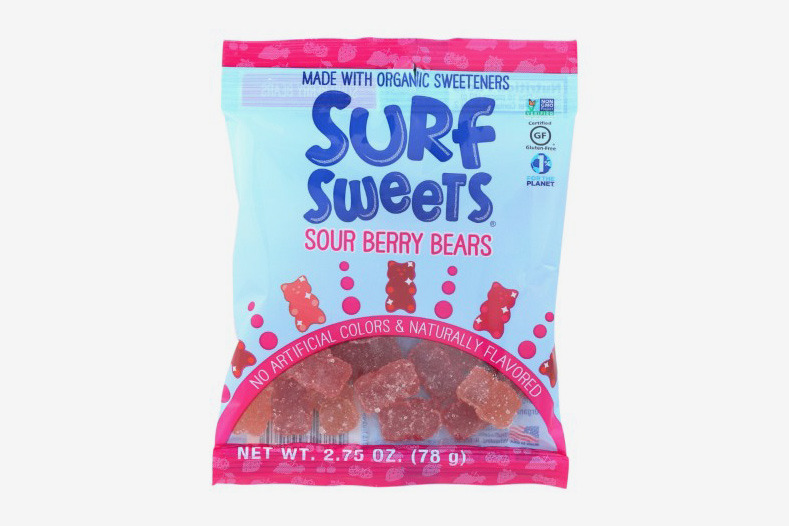 Surf Sweets Sour Berry Bears, 2.75 Ounce Bags