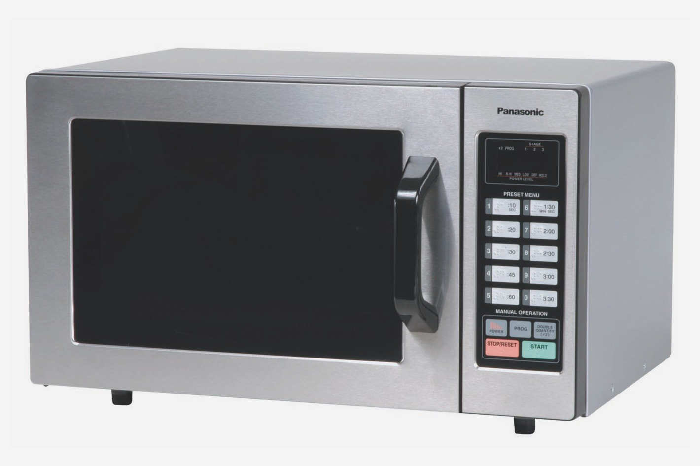 Panasonic Ne 1054f Stainless 1000w 0 8 Cu Ft Commercial Microwave Oven