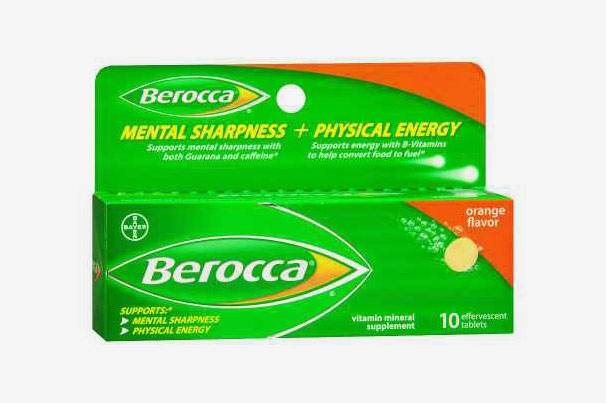Berocca Effervescent Tablets Orange