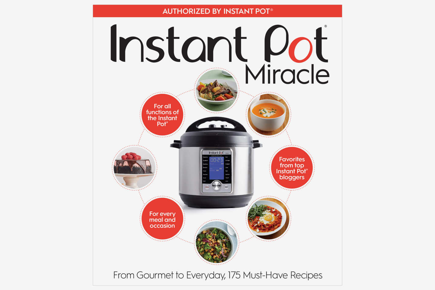 The Instant Pot Cookbook : 175 Delicious Recipes for Every Meal and Occasion