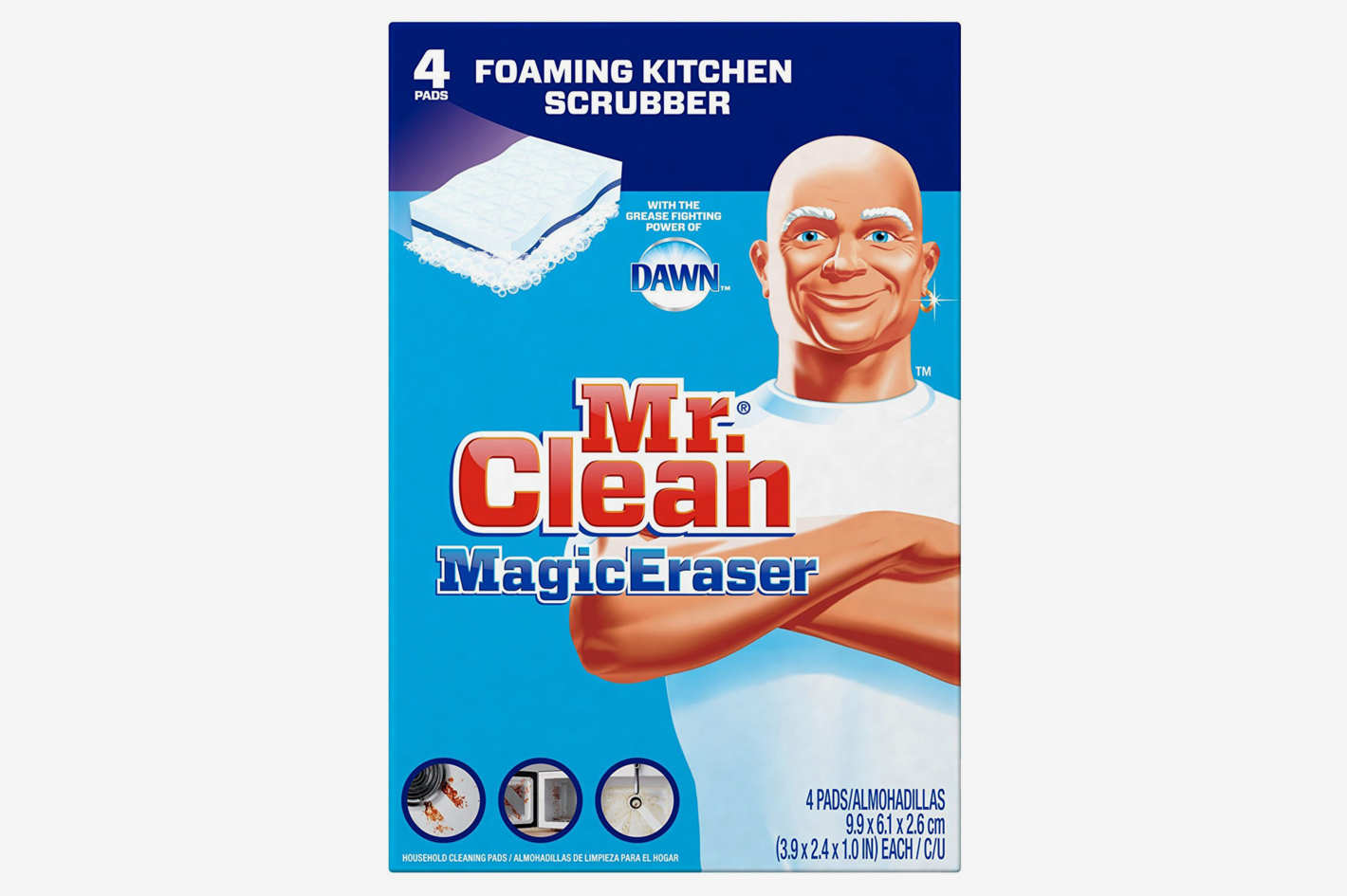 Mr. Clean Magic Eraser, 4 Count