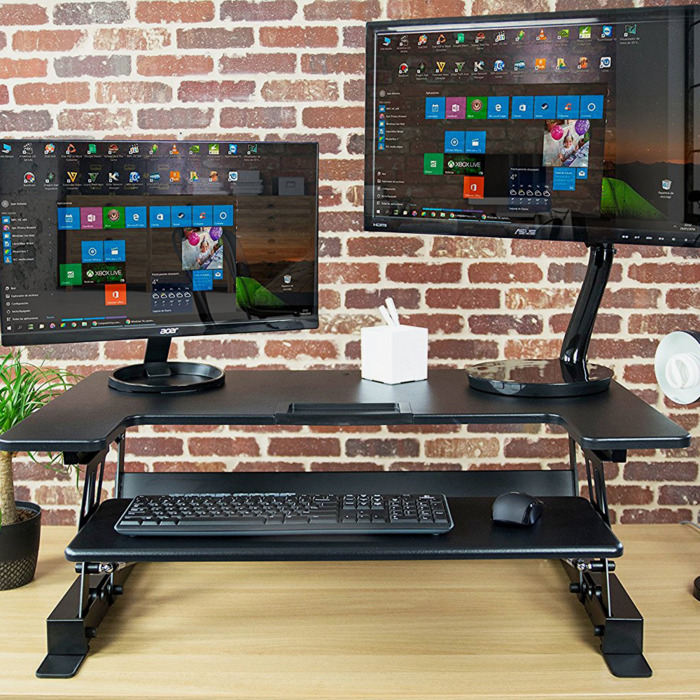 The 15 Best Standing Desks Standing Desk Converters 2018