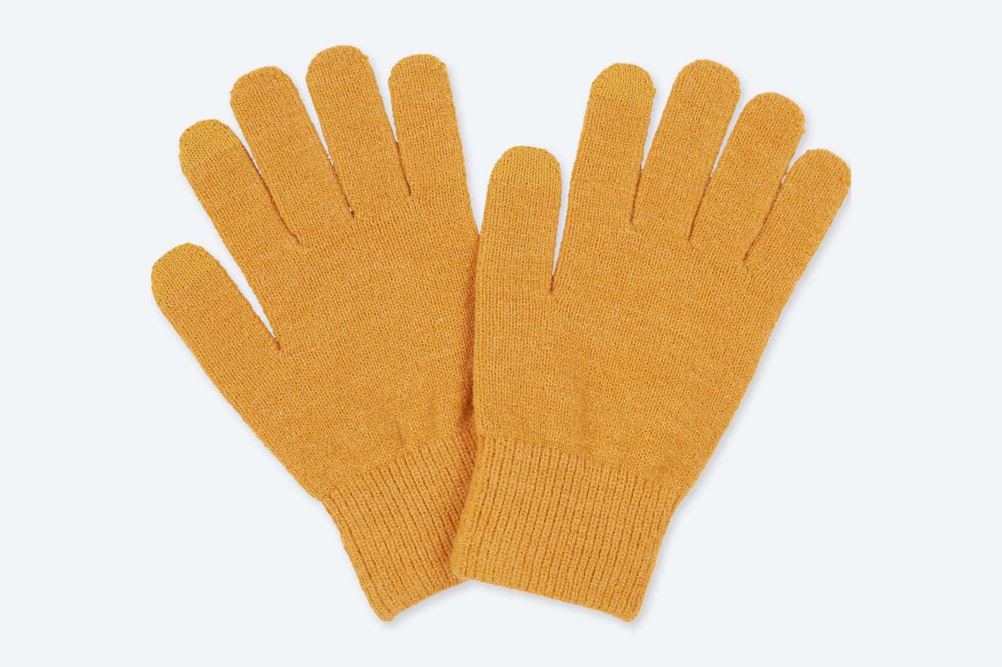 Uniqlo Men's Heattech Knitted Gloves