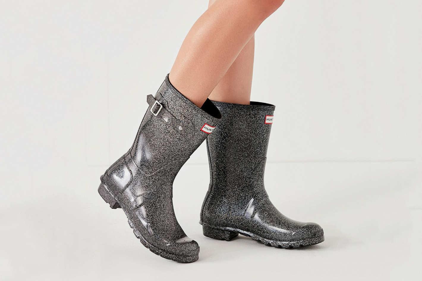 Hunter Original Short Starcloud Rain Boot