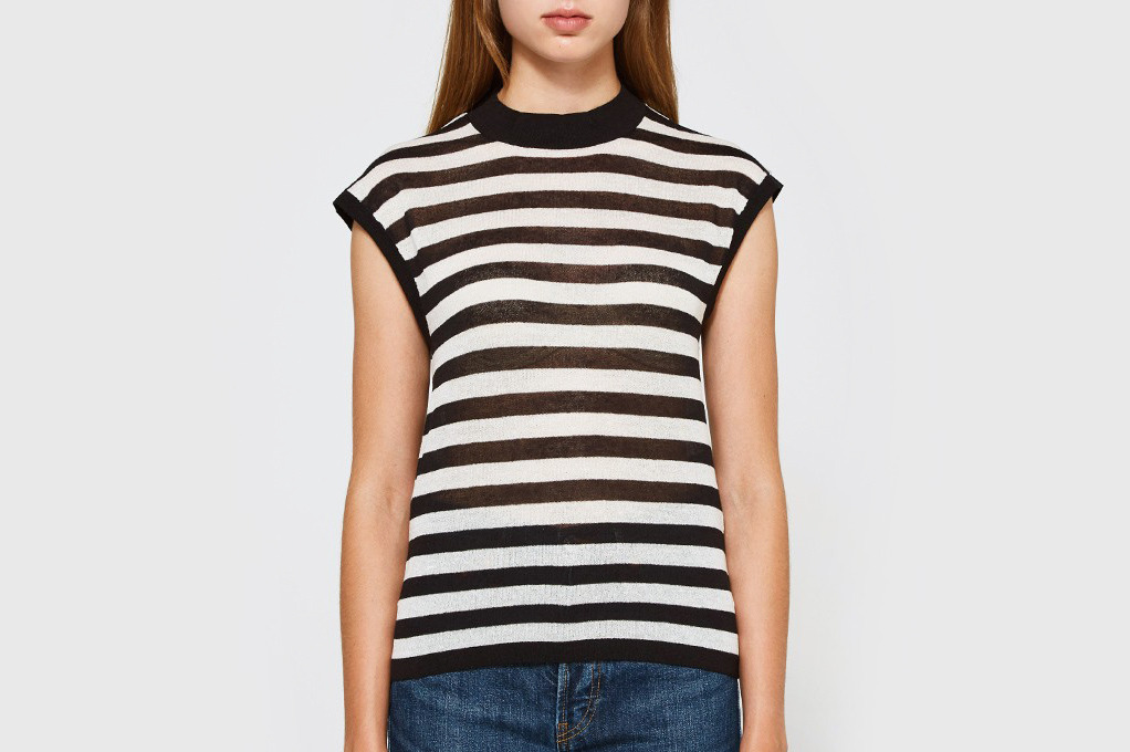 Callahan Stripe Muscle T-shirt