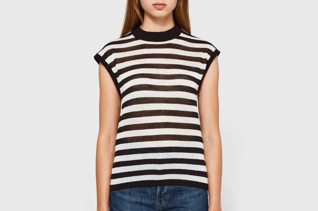 Callahan Stripe Muscle T-shirt